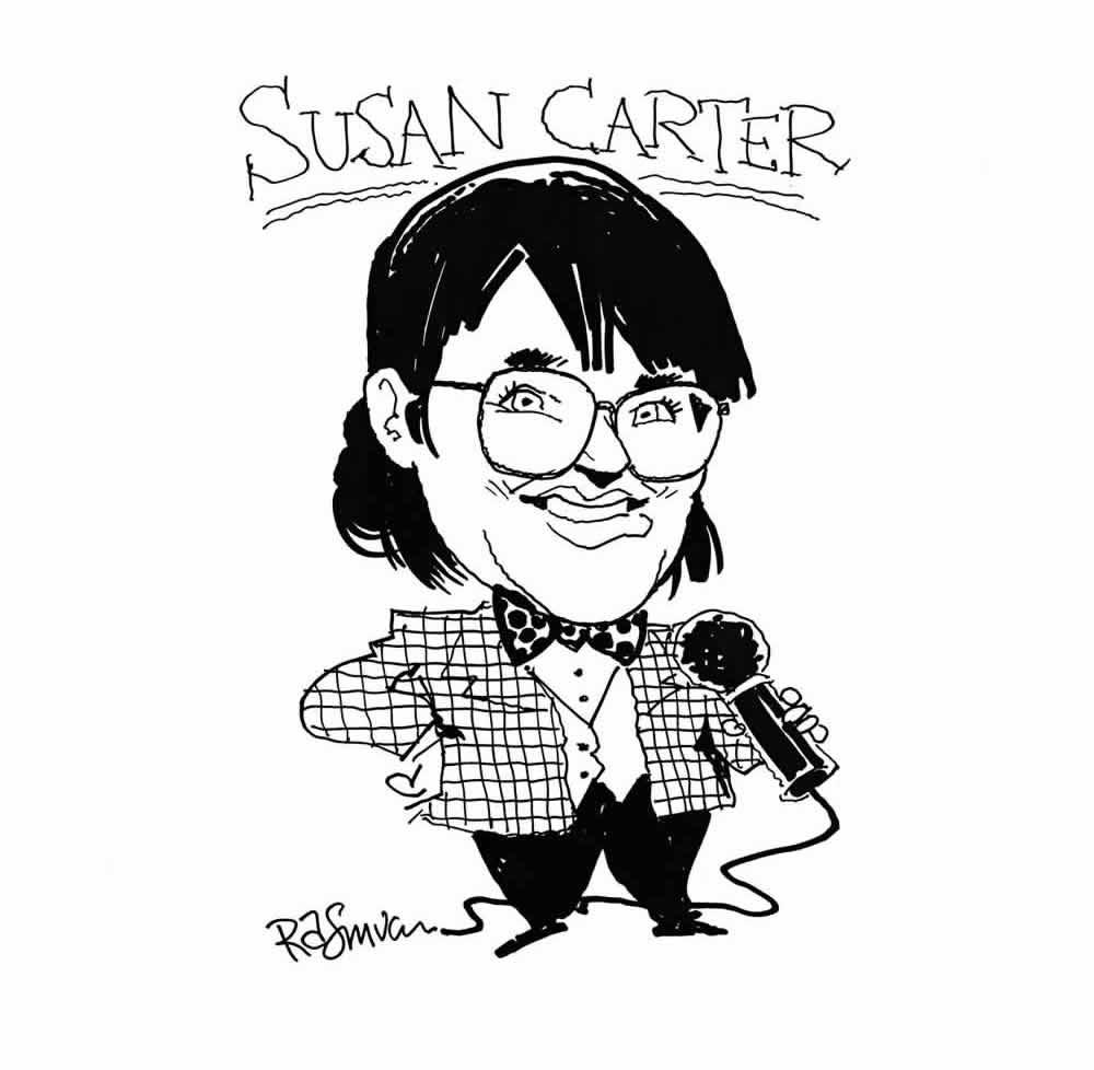 Susan Carter, comic & speaker